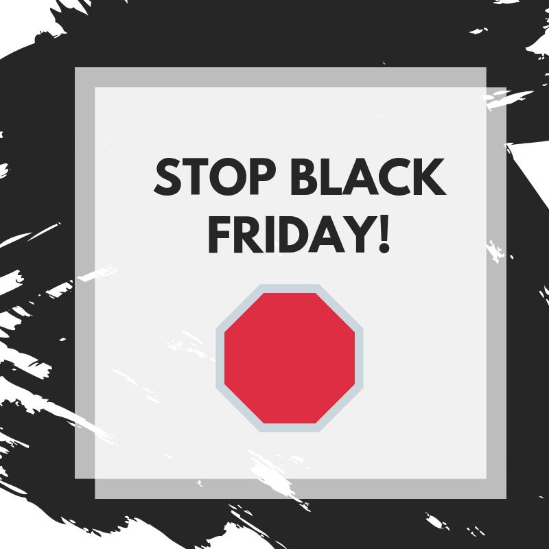 El anti Black Friday