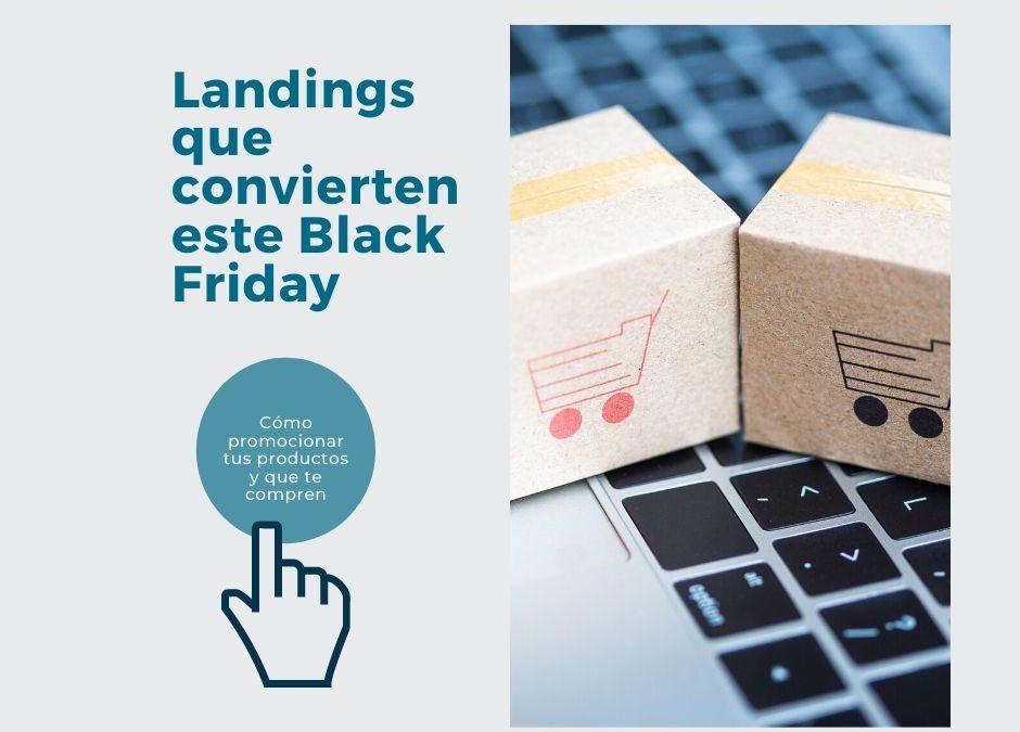 Cómo crear una landing que convierta para este Black Friday